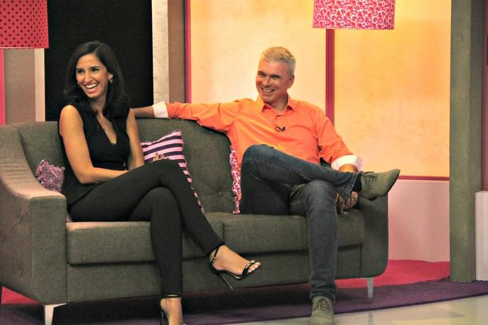 Mauricio Saraiva Alice Bastos Neves Mistura com Rodaika (Foto: Maicon Hinrichsen/RBS TV)