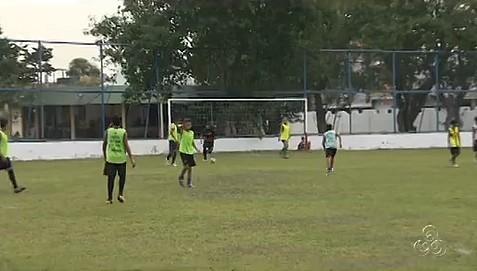 Projeto Atletas de Cristo, em Manaus (Foto: Bom dia Amazônia)