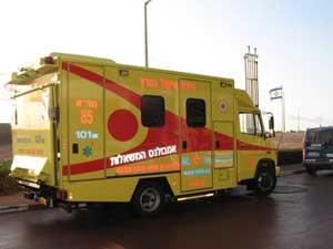 A 'Ambulância dos desejos' possui equipamentos de UTI para atender pacientes terminais. (Foto: BBC)