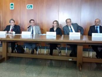 Integrantes da Câmara de Governança Orçamentária, Financeira e Corporativa do Distrito Federal  (Foto: Isabella Calzolari/G1)