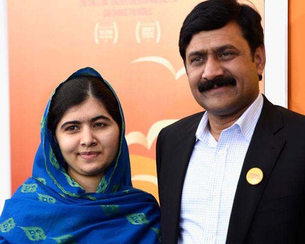 Malala e Ziauddin Yousafzai  (Foto: Getty Images)