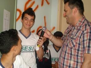 Amigos da Escola: radio Zona.E SESI Vilhena (Foto: Divulgação)