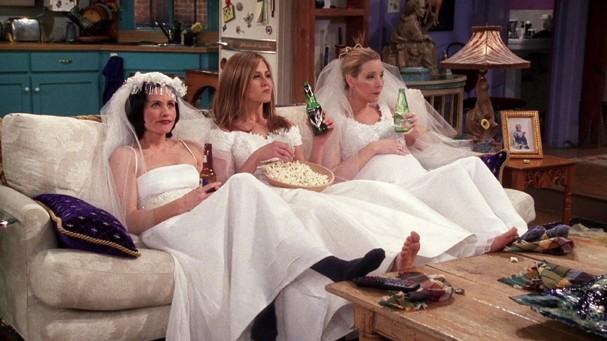 Monica, Rachel e Phoebe (Foto: Reprodução)