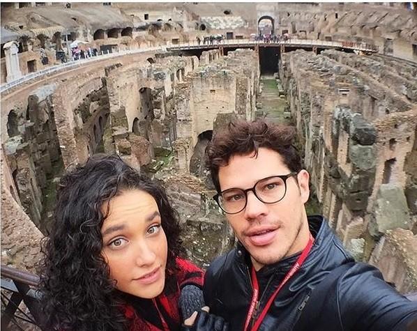 Débora e José Loreto (Foto: Instagram)
