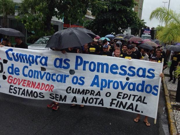 Na manifestação desta quinta, apenas flagrantes e o trabalho do IML estão mantidos (Foto: Ana Regina / TV Globo)