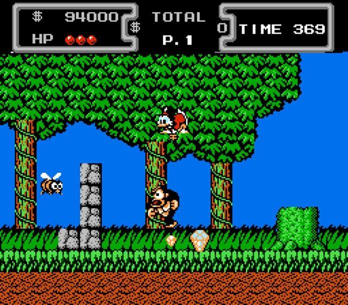 Ducktales era um jogo simples, mas muito popular devido a jogabilidade (Foto: Reprodução / Retronauts)