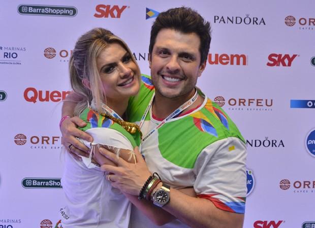 Mirella Santos e Ceará (Foto: Marcos Dantas/Ed.Globo)