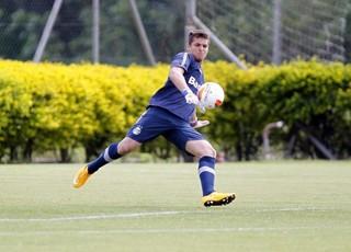 Phelipe Megiolaro, goleiro do Grêmio sub-17 (Foto: Rodrigo Fatturi/Grêmio/Divulgação)