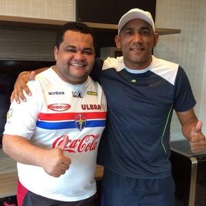 Fast Ney Júnior e Rozenha (Foto: Divulgação/Fast)