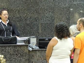 Trio permaneceu em silêncio durante audiência (Foto: Luna Markman/ G1)