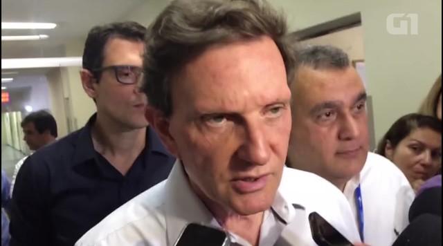 Crivella afirma que teme sobrecarga na rede municipal