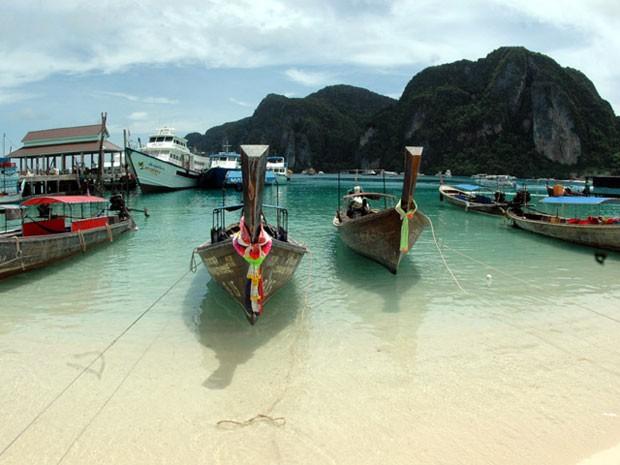 Ilhas Phi Phi, na Tailândia (Foto: Creative Commons/WPPilot)