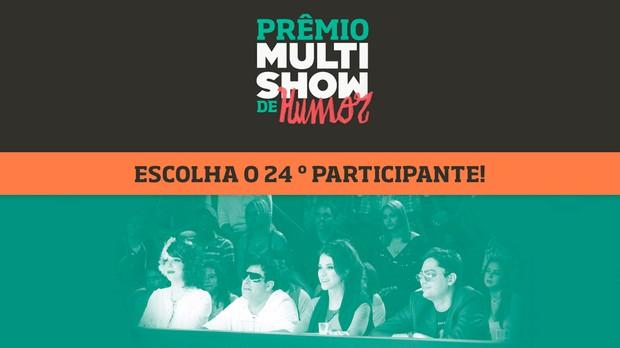 prmio multishow de humor votao 24 participante (Foto: Divulgao)