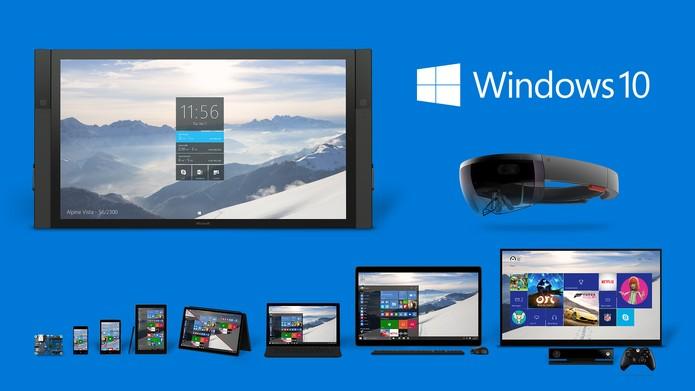 Windows 10 estará disponível em diversos aparelhos segundo Microsoft (Foto: Divulgação/Microsoft)