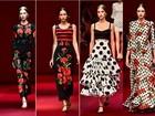 Olé, Dolce & Gabbana! Grife presta homenagem a cultura espanhola e aposta no babado