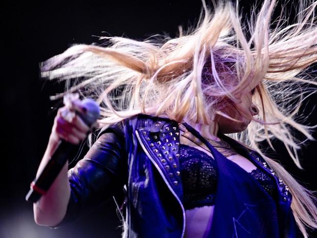 Demi Lovato (Foto: Raul Zito/G1)