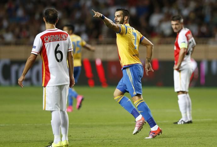 Negredo Valencia Monaco (Foto: EFE)