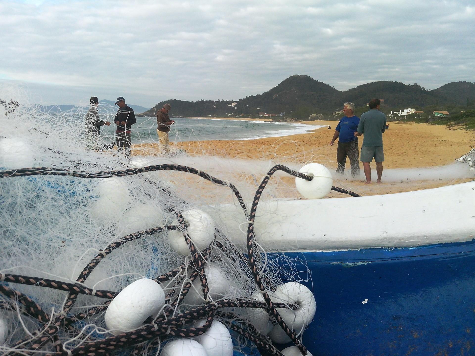 'De Olho no Mar' foi gravada no litoral norte catarinense (Foto: Luiz Carlos de Souza/RBS TV)