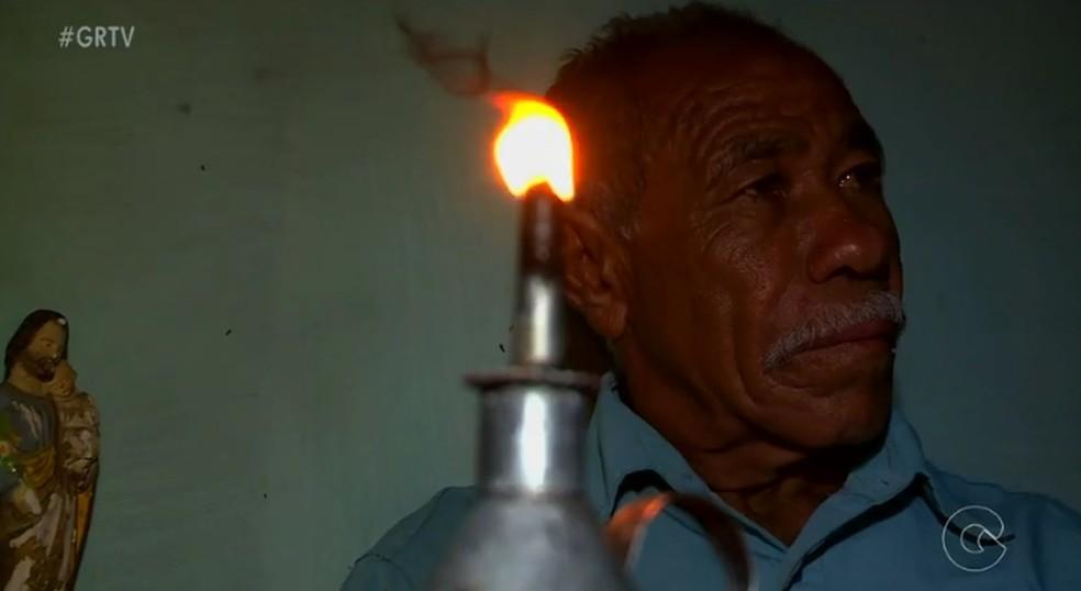 Vilarejo sem energia (Foto: Reprodução/ TV Grande Rio)
