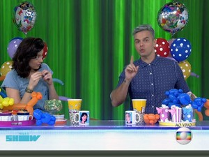 Otaviano e Mônica comentam entrevista de Chimbinha (Foto: Tv Globo/Gshow)