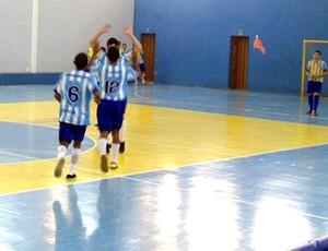 Lucas Geraldo Cunha Barbosa atleta de futsal de Formiga MG (Foto: Reprodução)