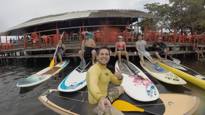 Stand Up Paddle; SUP Amapá (Foto: Divulgação?SUP Amapá)