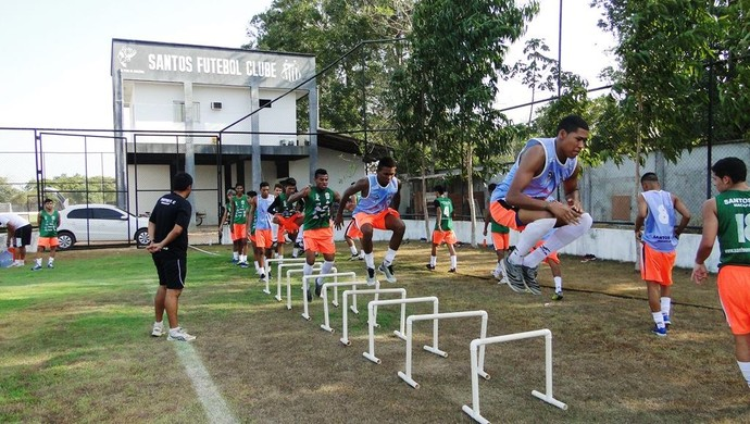 Santos-AP; Futebol; Amapá (Foto: Asscom/Santos-AP)