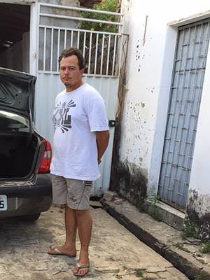 Carlos André dos Santos confessou o crime (Foto: Divulgação/Polícia Civil do RN)
