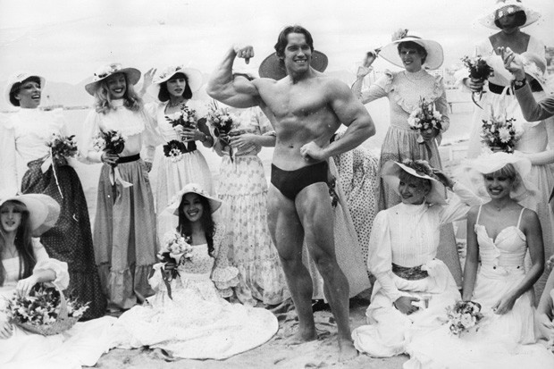 Arnold Schwarzenegger (Foto: Hulton Archive/Getty Images)