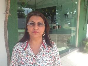 Iracilda Silva Pinto, chefe estadual da Divisão Epidemiológica (Foto: John Pacheco/G1)