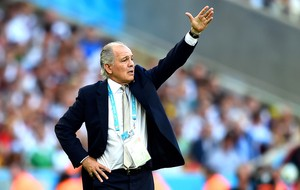 Alejandro Sabella final Alemanha x Argentina (Foto: Getty Images)