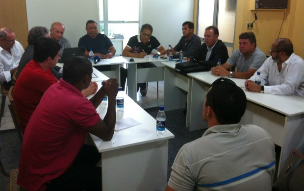 Reunião FAF (Foto: Alírio Lucas)