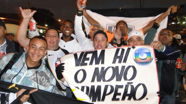 Torcedores Atlético-MG Morumbi (Foto: Fernando Martins)