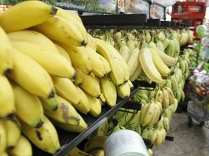 Preço da banana teve alta de 1,98% em junho. (Foto: Cristino Martins/O Liberal)