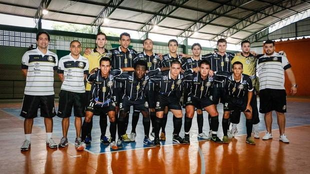 Time de futsal do Rio Branco-ES busca a vitória para ainda sonhar com a classificação (Foto: Divulgação/Rio Branco Futsal)