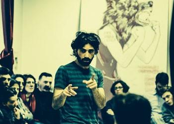 O autor italiano Cristian Ceresoli (Foto: Valeria Tomasulo)