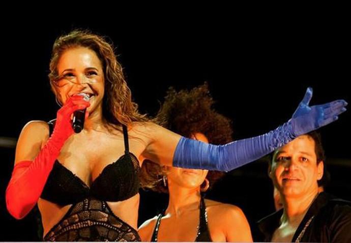 Daniela Mercury está com tudo! (Foto: Arquivo Pessoal)