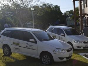 Apenas Macapá recebeu kit, que inclui veículos (Foto: Dyepeson Martins/G1)