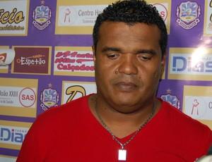 Nevada, técnico do Lucena (Foto: Silas Batista / GloboEsporte.com)