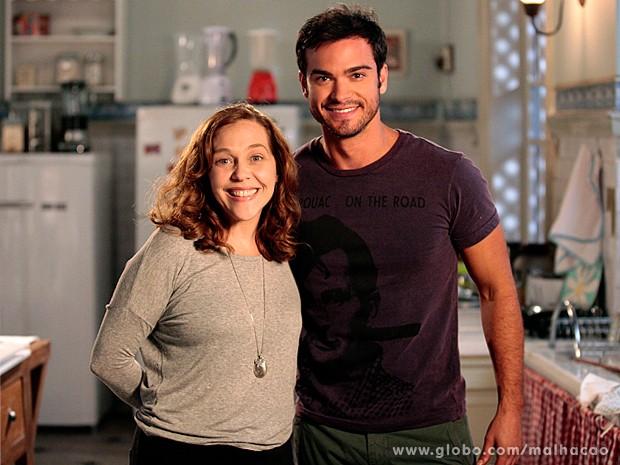 Sidney Sampaio contracena com Isabela Garcia (Foto: Malhação / TV Globo)