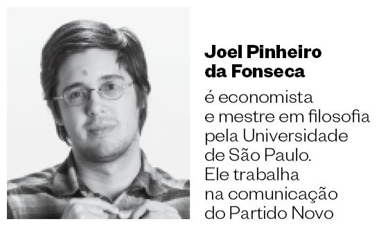 Joel Pinheiro  da Fonseca  é economista e mestre em filosofia pela Universidade de  São Paulo. Ele trabalha na comunicação do Partido Novo (Foto: Divulgação)