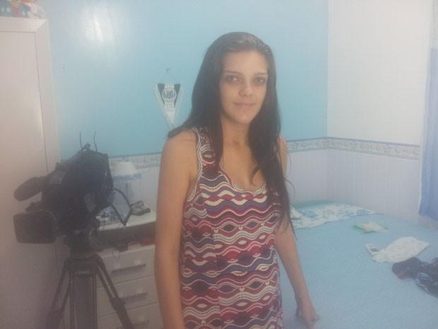 Mulher vítima de abuso sexual em hospital de Santos (Foto: Rodrigo Martins/ G1)