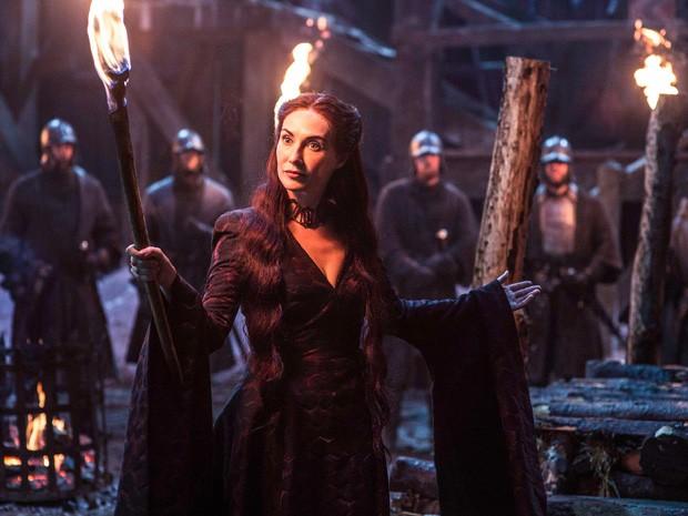 Melisandre na quinta temporada de 'Game of thrones' (Foto: Divulgação)