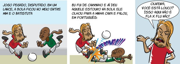 quadrinho oliveira 01 corrigido (Foto: arte esporte)