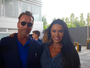 Gracyanne Barbosa reencontra Arnold Schwarzenegger: 'Incrível'