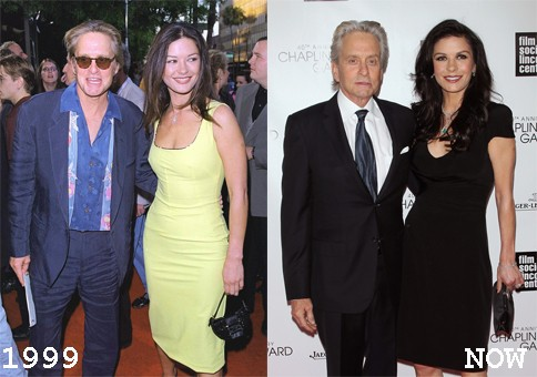 Michael Douglas & Catherine Zeta-Jones, 1999 (Foto: .)