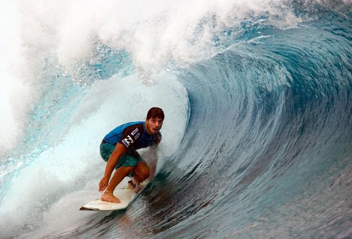 Surfe perde Ricardo dos Santos em 20 de janeiro de 2015 (Foto: Steve Robertson/ASP)