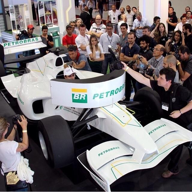 Felipe Massa Williams Salão do Automóvel (Foto: Reprodução Instagram)