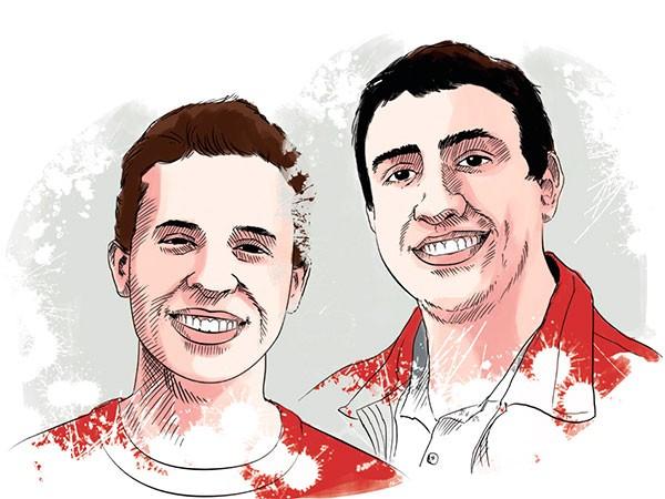Luís Otávio Ribeiro e Diego Reeberg (Foto: Luís Dourado)