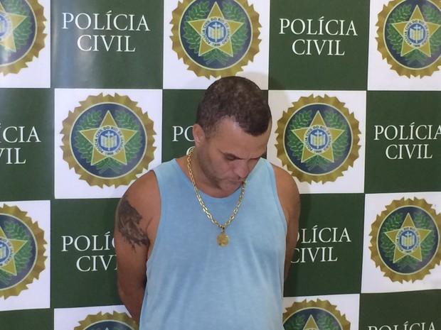 """André Nunes Barcelos, o """"Russinho, foi preso nesta quinta (30) (Foto: Henrique Coelho / G1)"""